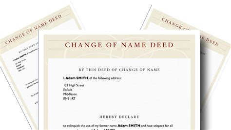 deed poll name change letter template deed poll name change letter template choice image