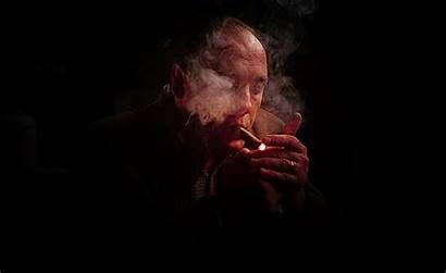 Soprano James Gandolfini Cigar Tony Sopranos Smoking