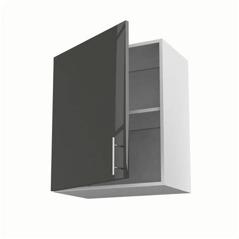 porte meuble de cuisine meuble de cuisine haut gris 1 porte h 70 x l 60 x p 35