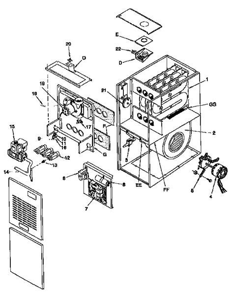comfortmaker furnace parts diagram repair wiring scheme comfortmaker furnace owners manual