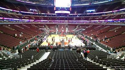 United Center Section Chicago Bulls Row Rateyourseats