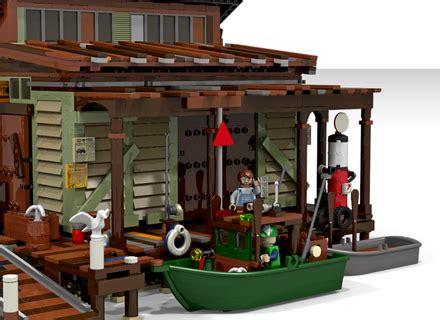 Boat Repair Plus by Lego Ideas Boat Repair Shop