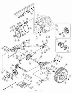Mtd 31as6heg799  247 88190   2006  Parts Diagram For Wheel Assembly