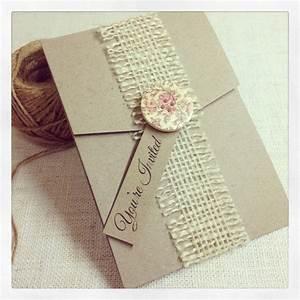 blog With diy hessian wedding invitations