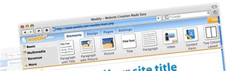 create website in weebly without template ipage website templates