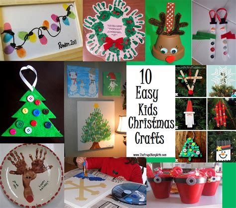fun  easy kids christmas crafts easy christmas