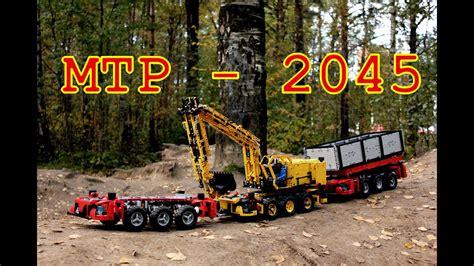 lego technic multifunctional truck platform mercedes