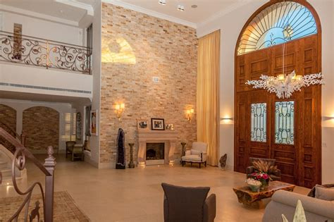 square foot palatial limestone mansion  caesarea