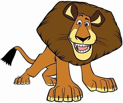Alex Cartoon Madagascar Clipart King Marty Gloria