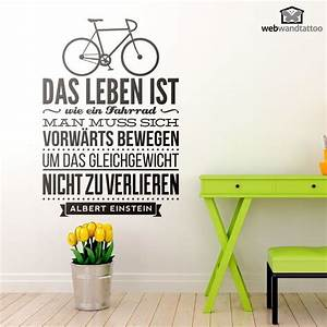 Das Leben Ist Wie Ein Fahrrad : wandtattoos das leben ist wie ein fahrrad wandtatoo zitate auf deutsch pinterest ~ Orissabook.com Haus und Dekorationen