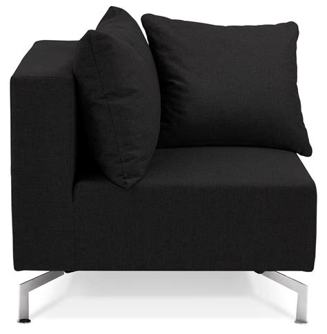 canap voltaire coin de canapé voltaire corner noir canapé modulable