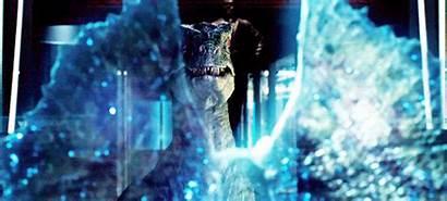 Jurassic Dilophosaurus Velociraptor Raptor Hologram Dinosaur Predator