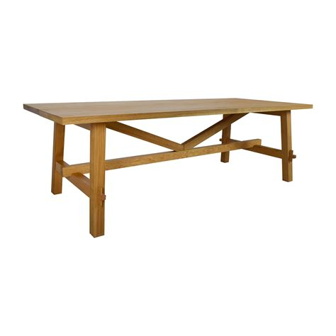 53% OFF   IKEA IKEA MOCKELBY Wood Table / Tables