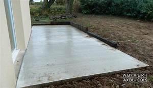 nivremcom faire une terrasse en bois sans dalle de With faire dalle beton terrasse