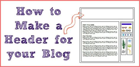 How To Make A Blog Header  More From Your Blog