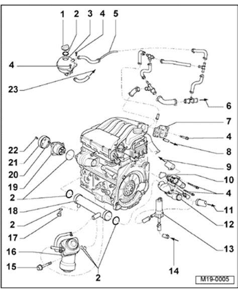 Volkswagen Gti Engine Diagram by 2000 Vw Jetta 2 0 Engine Diagram Automotive Parts
