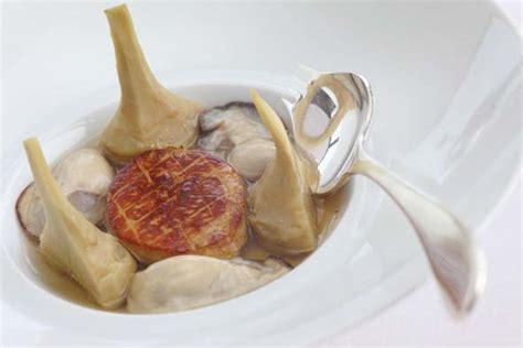 cuisiner artichaut poivrade artichaut poivrade huîtres et foie gras savoir cuisiner fr