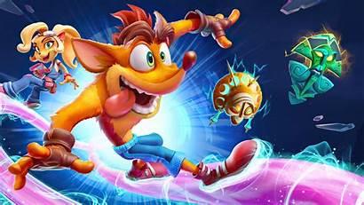Crash Bandicoot Its Games Wallpapers 4k Ps