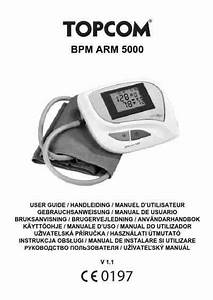 Topcom Bpm 5000 Blood Pressure Monitor Download Manual For