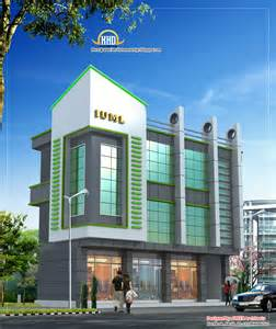 Small Office Building Elevation Design