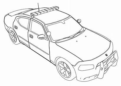 Coloring Suv Pages Police Printable Getcolorings