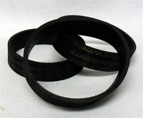 kirby vaccum kirby vacuum cleaner belts 301291 3 3 pack ebay