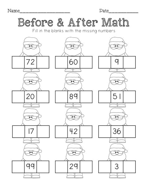 math sequencing missing number counting on