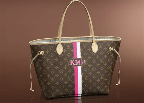 louis vuitton neverfull mm personalized  obsessed wedding shower gift   initials
