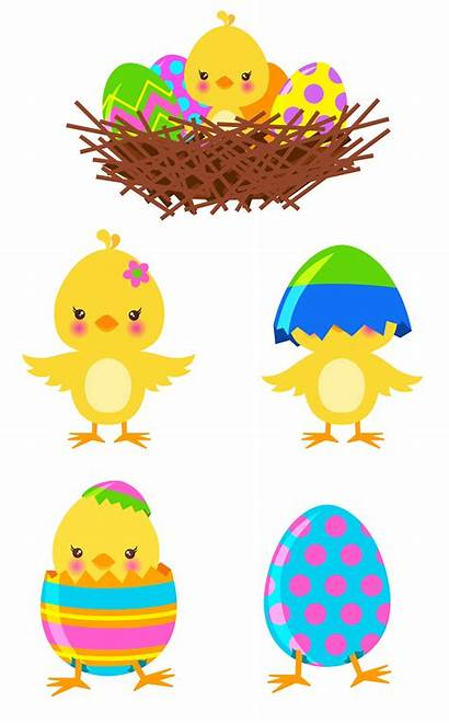 Easter Clipart Chicks Chick Transparent Clip Chalkboard