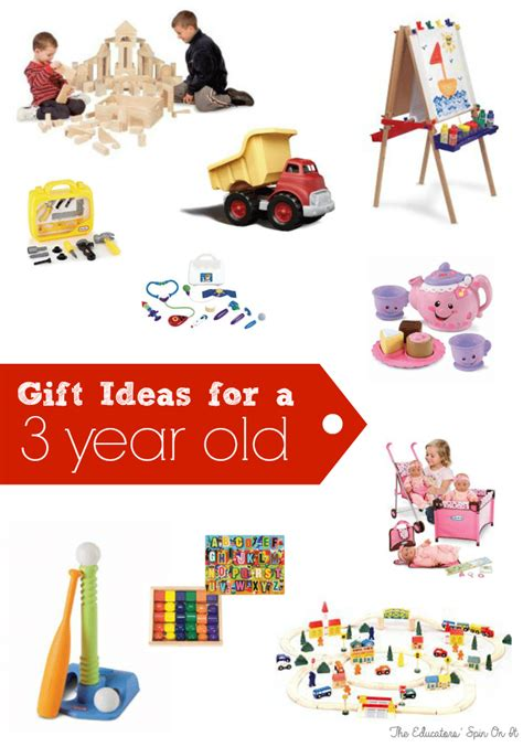 birthday gift ideas for three years old the educators