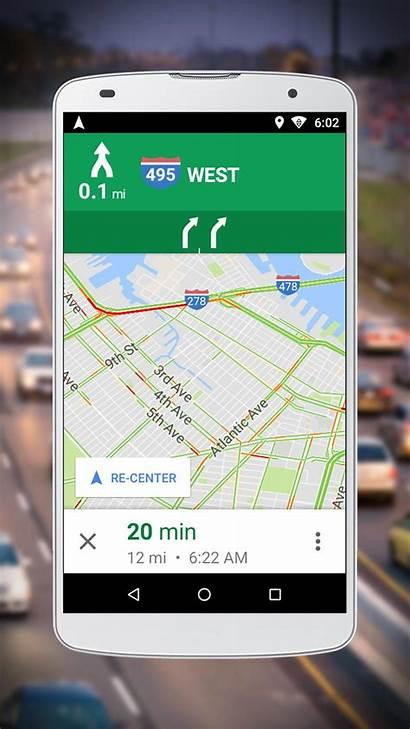 Google Maps Navigation Android Apk App Screenshot
