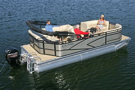 Lund Pontoon Boats by 2017 New Lund Lx200 Pontoon Boat For Sale Coldwater Mi