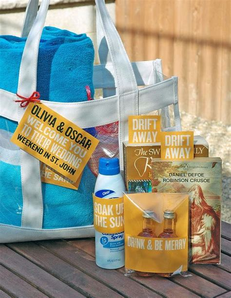 Perfect Destination Wedding Welcome Bags Everafterguide