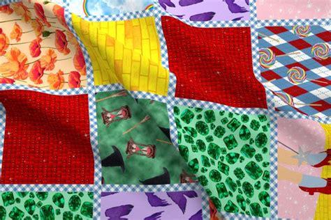 Wizard Of Oz  Readymade Quilt Fabric Joyfulrose