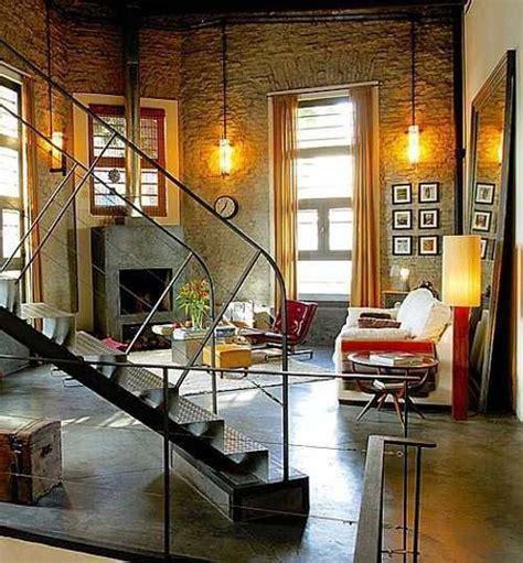 living estilo industrial casa web