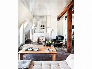 Appartement Sous Comble : verri re int rieure 26 photos pour s parer sans cloisonner ~ Dallasstarsshop.com Idées de Décoration
