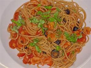 Pasta Mit Garnelen : spaghetti mit garnelen oliven und tomaten von muuu1 ~ Orissabook.com Haus und Dekorationen