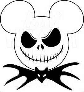 Winnie The Pooh Pumpkin Pattern by Mickey Mouse Dressed As Jack Skellington Instant Download