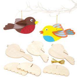 wooden  birds baker ross