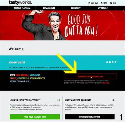 Referral Link Where Tastyworks
