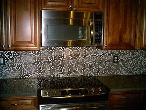 Glass tile kitchen backsplash designs carisainfo for Glass mosaic tile backsplash ideas