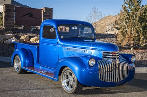 Custom Chevy Hot Rod Truck For Sale