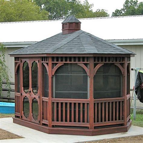 Gazebo Kits Amish Built Gazebo Kits Country Gazebos