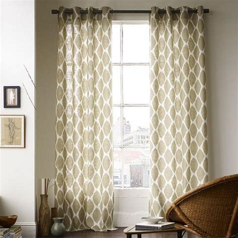 decorations curtains for 3 large windows curtains for 3