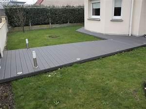 Terrasse En Composite : terrasse exterieur composite free veranda elite with ~ Melissatoandfro.com Idées de Décoration
