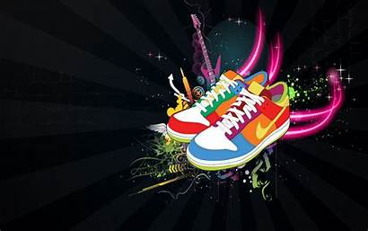 Nike Shoes Wallpapers Cool Abstract Iphone Pc