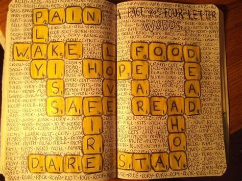 Wreck This Journal, Letters And Scrabble On Pinterest