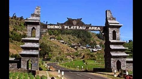 pegunungan dieng jawa tengah tempat wisata