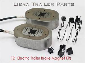 4  12 U0026quot  Electric Trailer Brake Magnet Replacement Kits