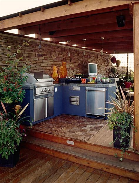backyard kitchen design ideas 95 cool outdoor kitchen designs digsdigs